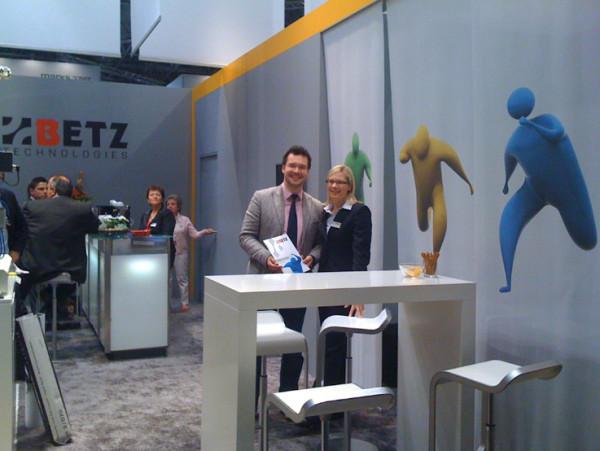 Betz Technologies – Messestand und Identity Consulting