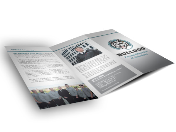 Bulldog Security – Unternehmensbroschüre