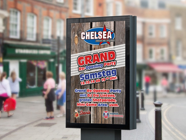 Chelsea Sportsbar – Grand Reopening Party