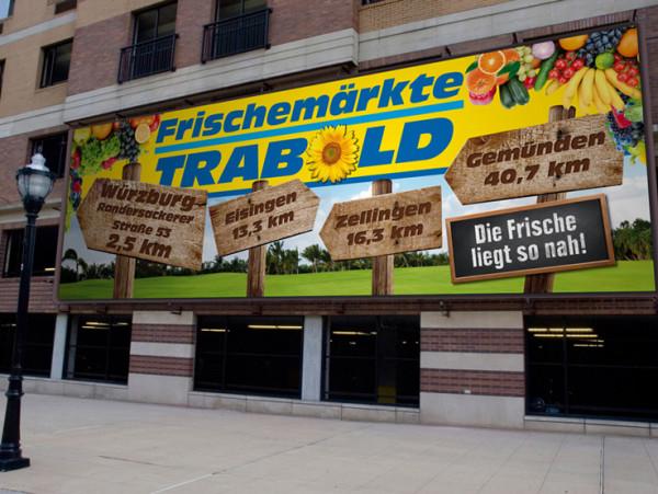 Trabold Frischemärkte –  Marktgaragenschilder