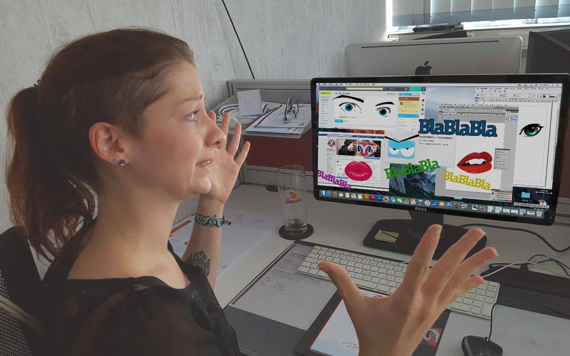 Praktikantin, Lauterbach Kreativbetreuung, Marketing, Kreativ, Agentur, Social Media, Consulting, Kommunikationsagentur, Gestaltung