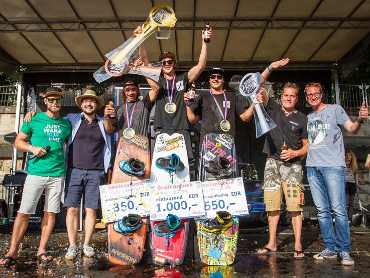 Gewinner Sternla Wake Race