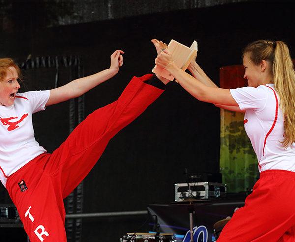 Karate, Auftritt, Action, Event, kreativbetreuung