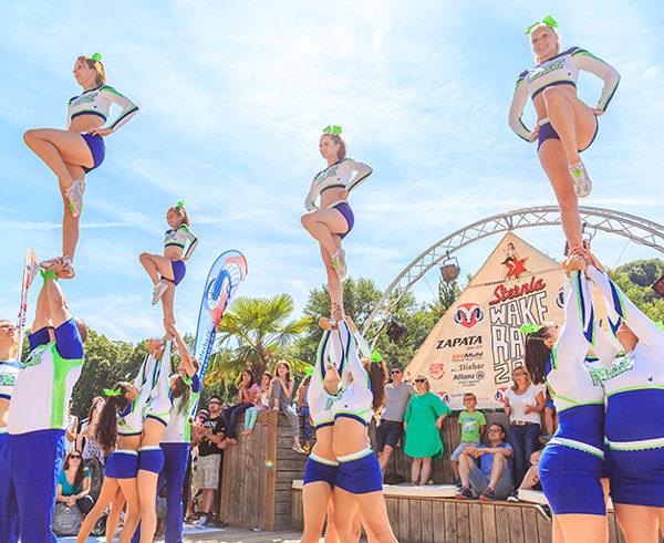 Cheerleader, Auftritt, Event, Bühne, kreativbetreuung