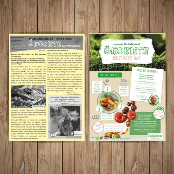 Ökokiste Schwarzach – Kundenbriefe