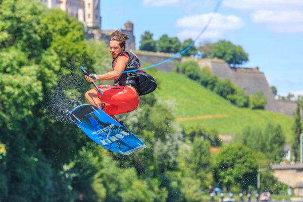 Festung Marienberg, WakeEnd, Eventmarketing, Wakeboarding