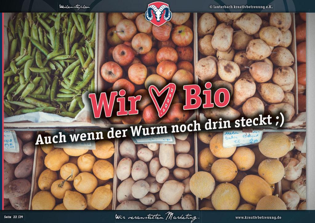 Lauterbach Kreativbetreuung, Grafik, Bio, würzburg, Gemüse