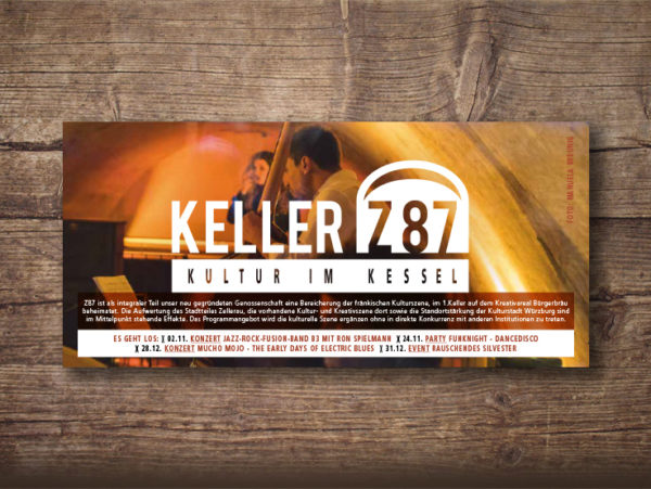 Keller Z87 – Postkarte