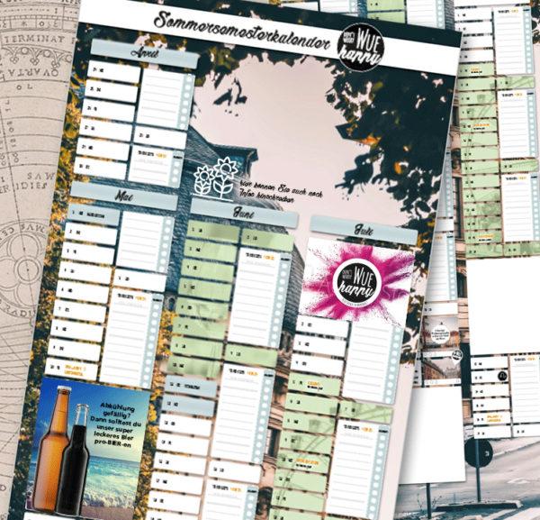 Studi-Kalender Würzburg