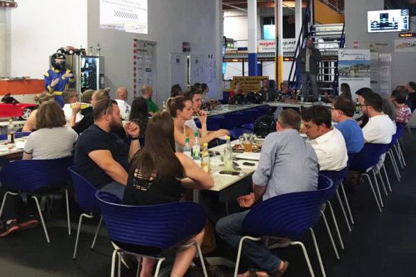 Unternehmerstammtisch Würzburg macht Spaß