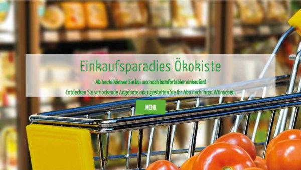 Ökokiste Schwarzach – neue Website