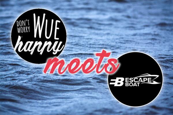 Influencer-Partys auf dem Escape Boat