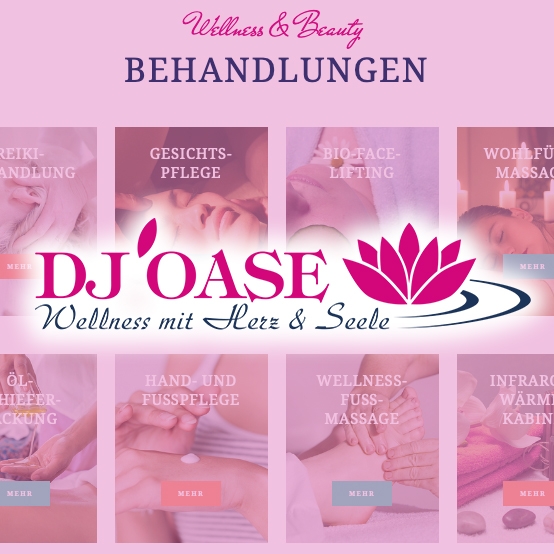 DJ Oase – neue Website